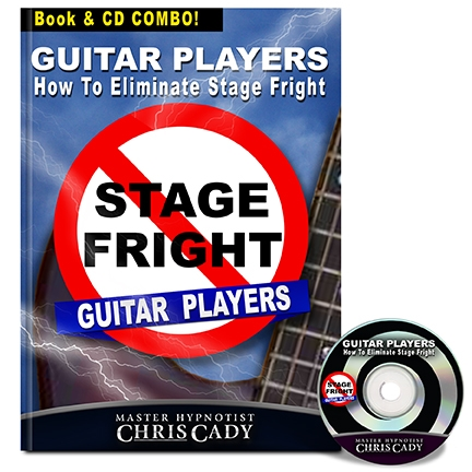 stage fright how to eliminate stage fright performance anxiety for guitar players progam cover
