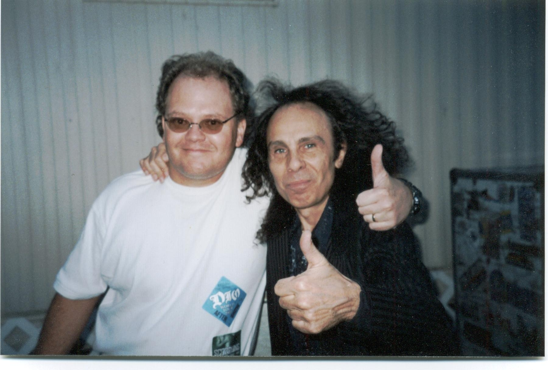 Ronnie James Dio RJD and Chris Cady