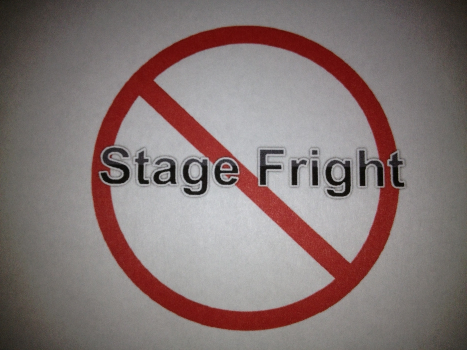 no stage fright  chris cady www.nostagefright.com